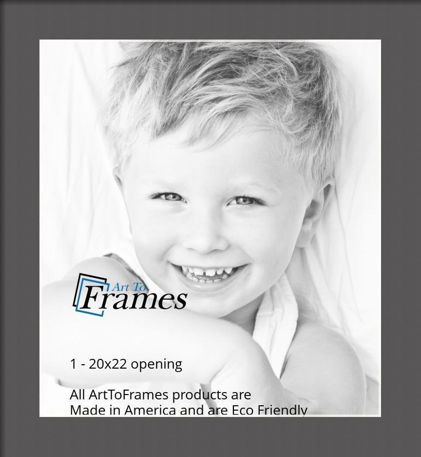 ArtToFrames-Custom-Black-Charcoal-Picture-Photo-Frame-Mat-Matting-Board-LG thumbnail 100