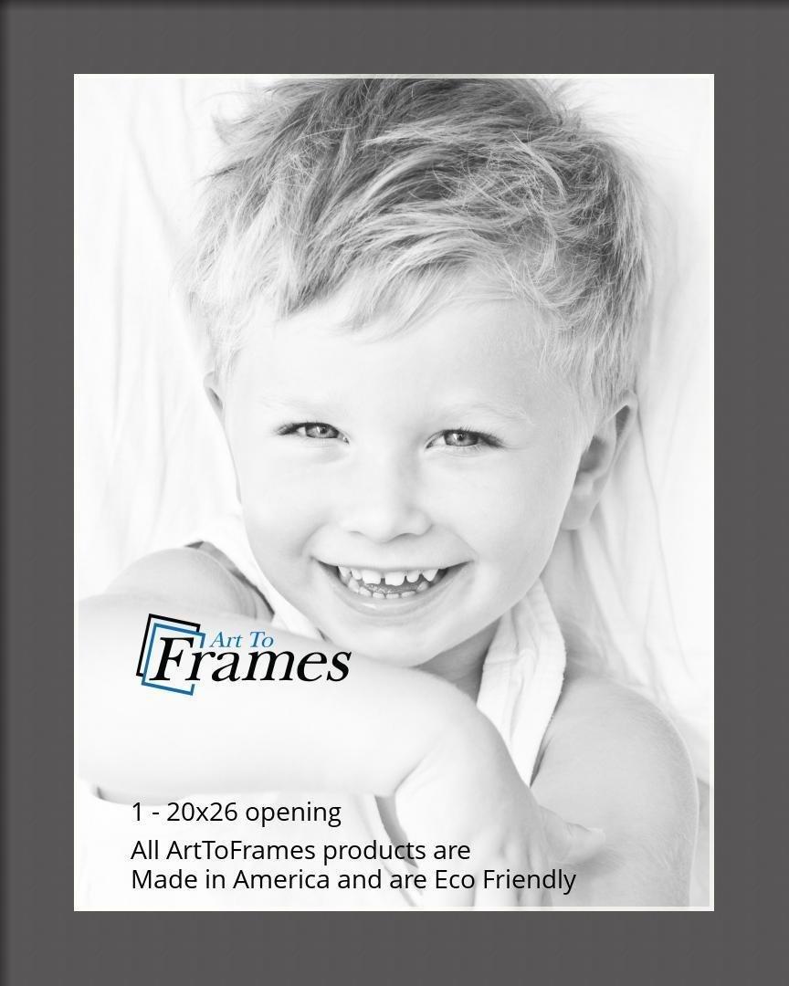 ArtToFrames-Custom-Black-Charcoal-Picture-Photo-Frame-Mat-Matting-Board-LG thumbnail 103