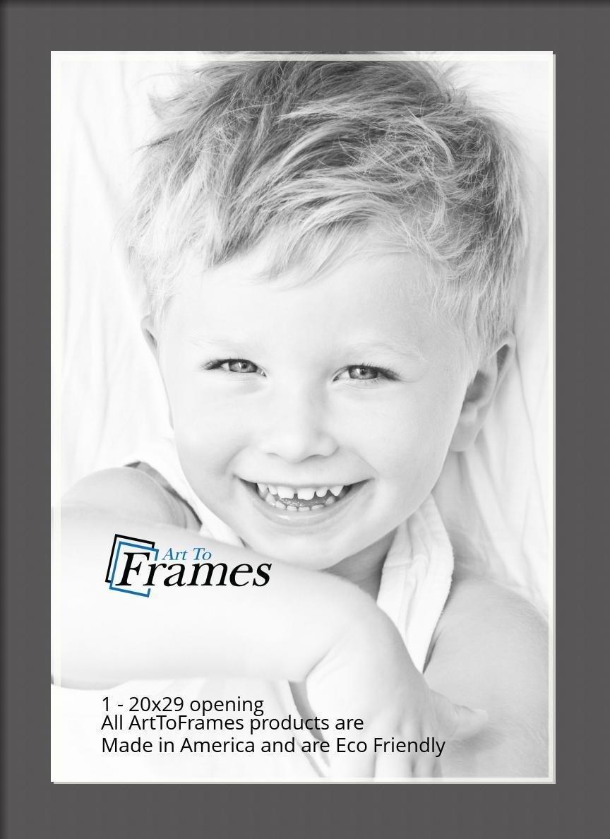 ArtToFrames-Custom-Black-Charcoal-Picture-Photo-Frame-Mat-Matting-Board-LG thumbnail 105