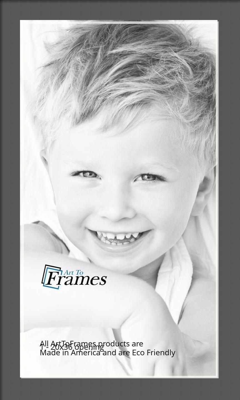 ArtToFrames-Custom-Black-Charcoal-Picture-Photo-Frame-Mat-Matting-Board-LG thumbnail 111