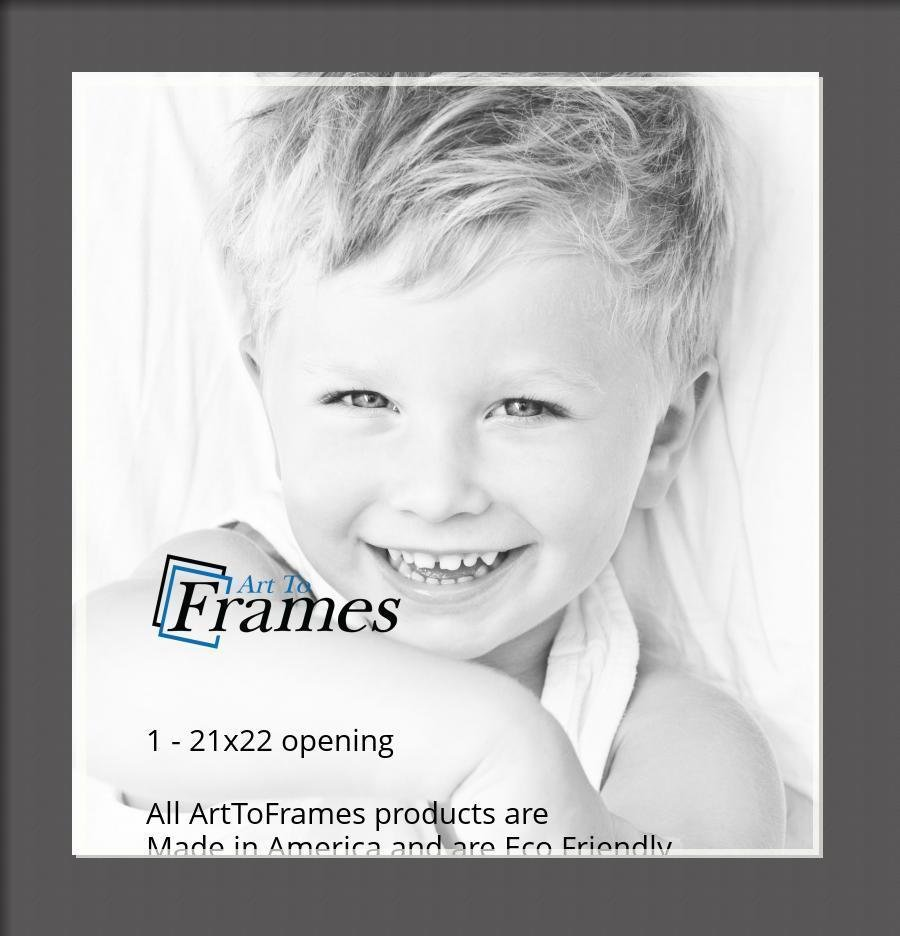 ArtToFrames-Custom-Black-Charcoal-Picture-Photo-Frame-Mat-Matting-Board-LG thumbnail 113