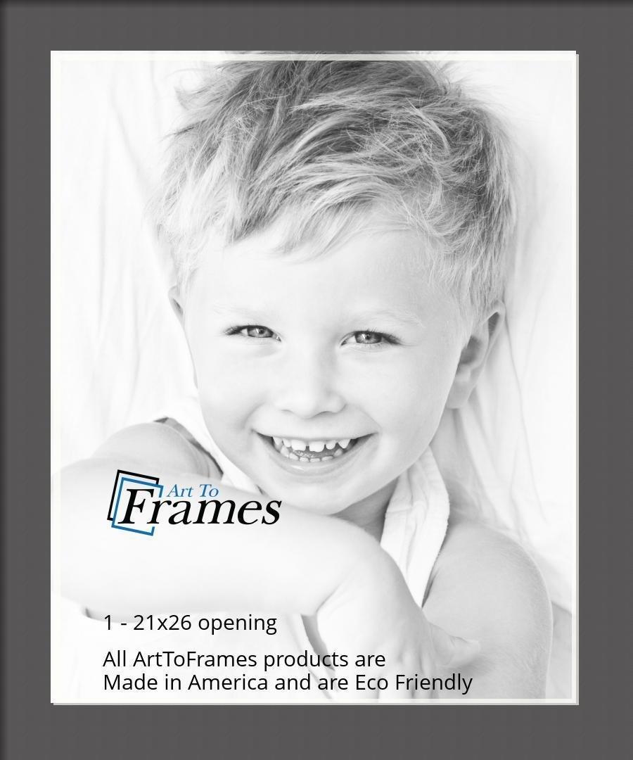 ArtToFrames-Custom-Black-Charcoal-Picture-Photo-Frame-Mat-Matting-Board-LG thumbnail 117