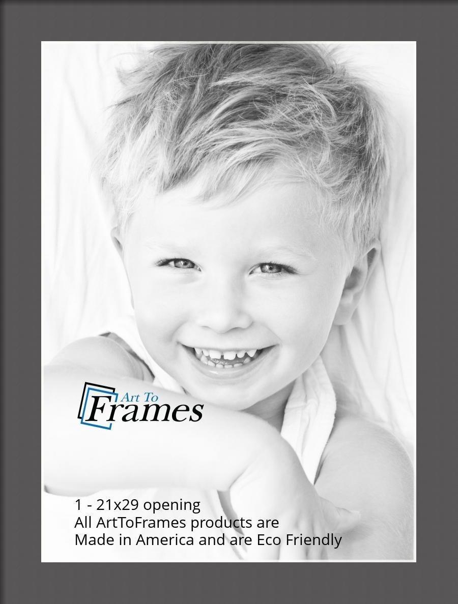 ArtToFrames-Custom-Black-Charcoal-Picture-Photo-Frame-Mat-Matting-Board-LG thumbnail 120