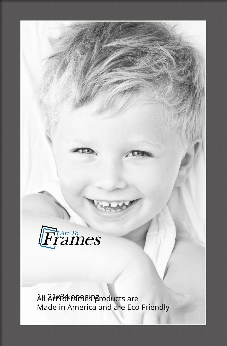 ArtToFrames-Custom-Black-Charcoal-Picture-Photo-Frame-Mat-Matting-Board-LG thumbnail 125