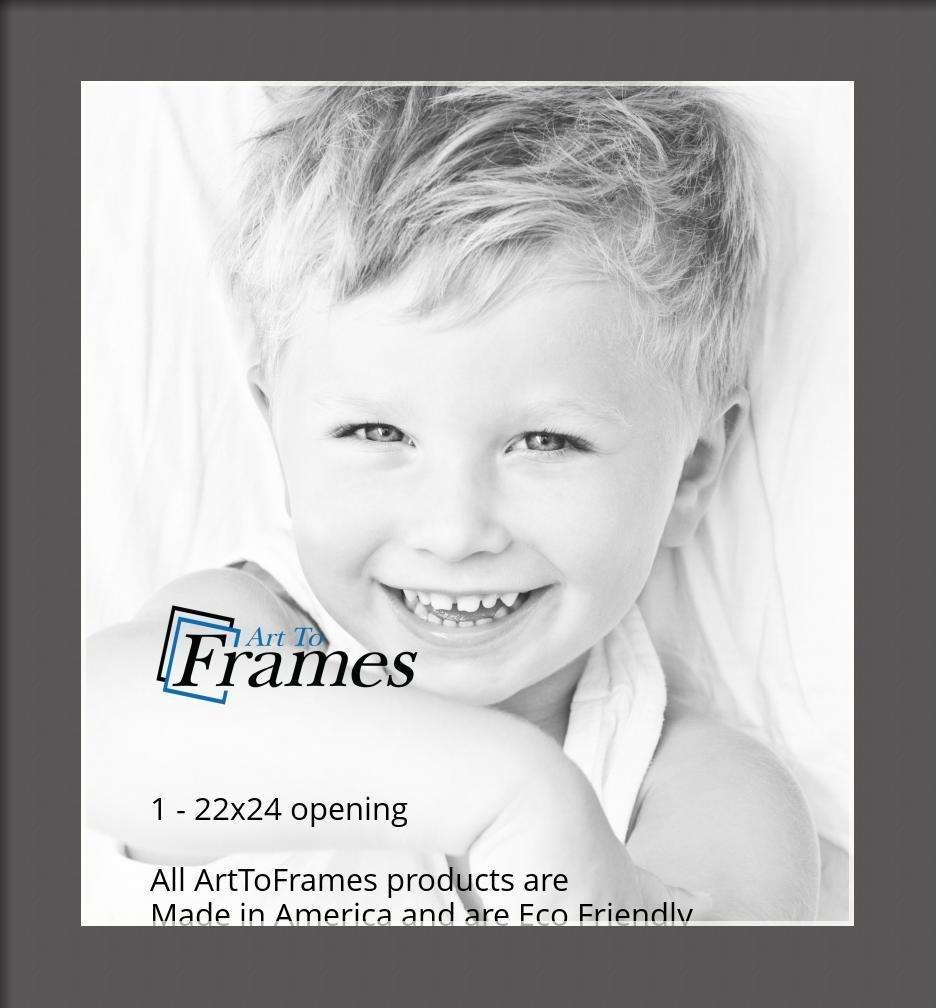 ArtToFrames-Custom-Black-Charcoal-Picture-Photo-Frame-Mat-Matting-Board-LG thumbnail 130