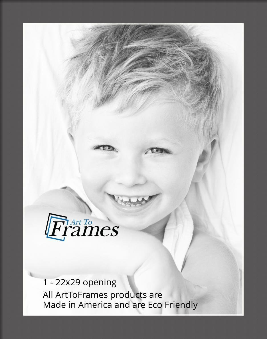 ArtToFrames-Custom-Black-Charcoal-Picture-Photo-Frame-Mat-Matting-Board-LG thumbnail 134