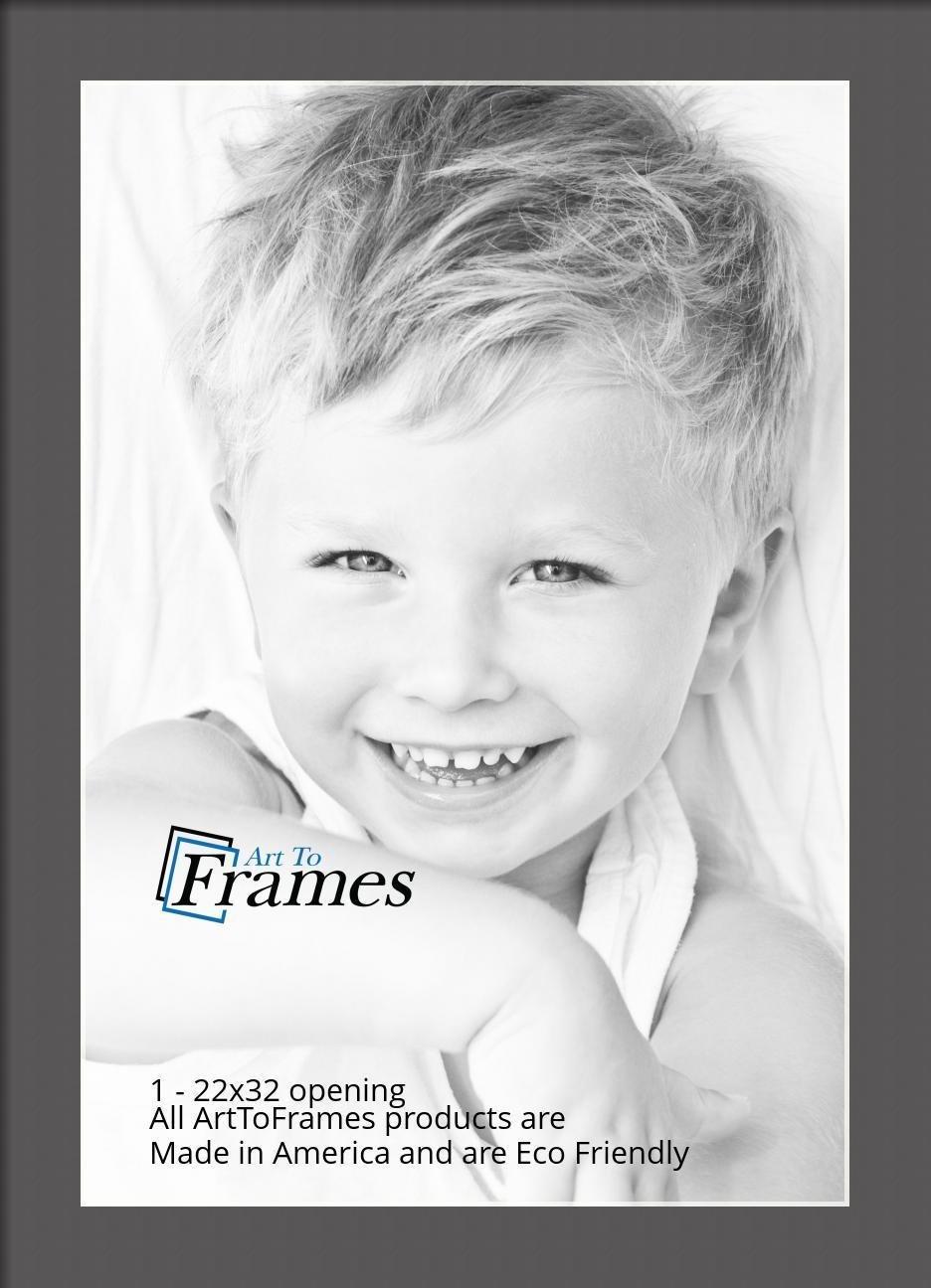 ArtToFrames-Custom-Black-Charcoal-Picture-Photo-Frame-Mat-Matting-Board-LG thumbnail 137