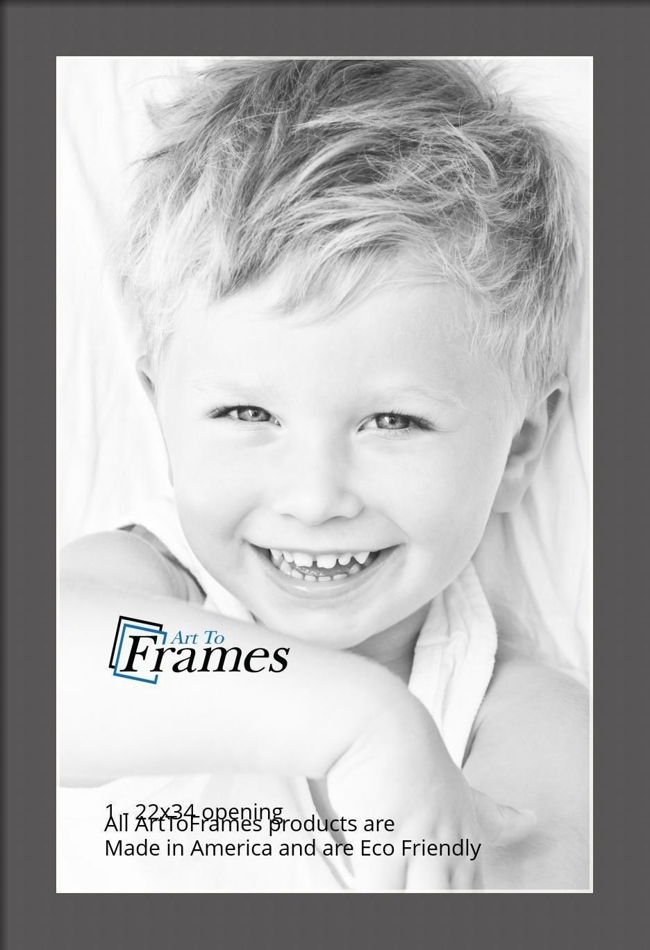 ArtToFrames-Custom-Black-Charcoal-Picture-Photo-Frame-Mat-Matting-Board-LG thumbnail 139
