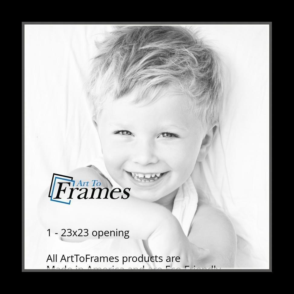ArtToFrames-Custom-Black-Charcoal-Picture-Photo-Frame-Mat-Matting-Board-LG thumbnail 142