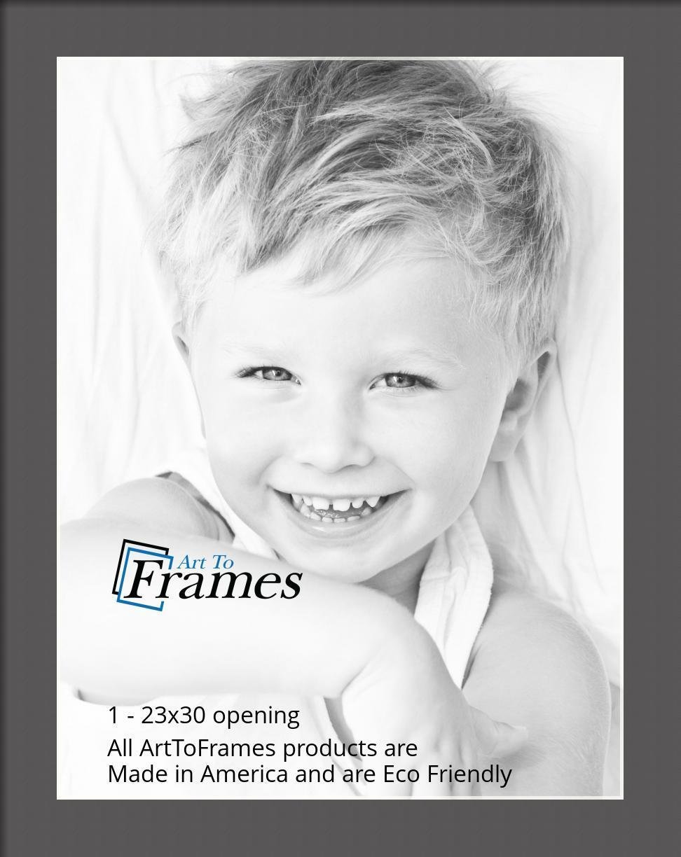 ArtToFrames-Custom-Black-Charcoal-Picture-Photo-Frame-Mat-Matting-Board-LG thumbnail 149