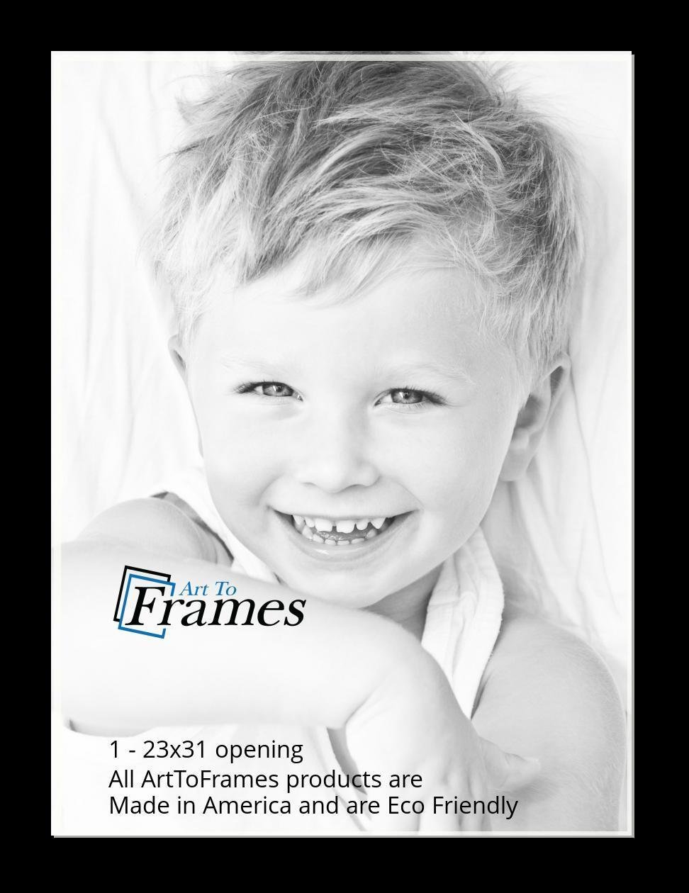 ArtToFrames-Custom-Black-Charcoal-Picture-Photo-Frame-Mat-Matting-Board-LG thumbnail 150