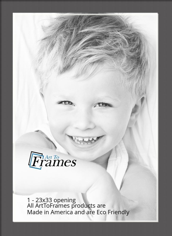 ArtToFrames-Custom-Black-Charcoal-Picture-Photo-Frame-Mat-Matting-Board-LG thumbnail 152
