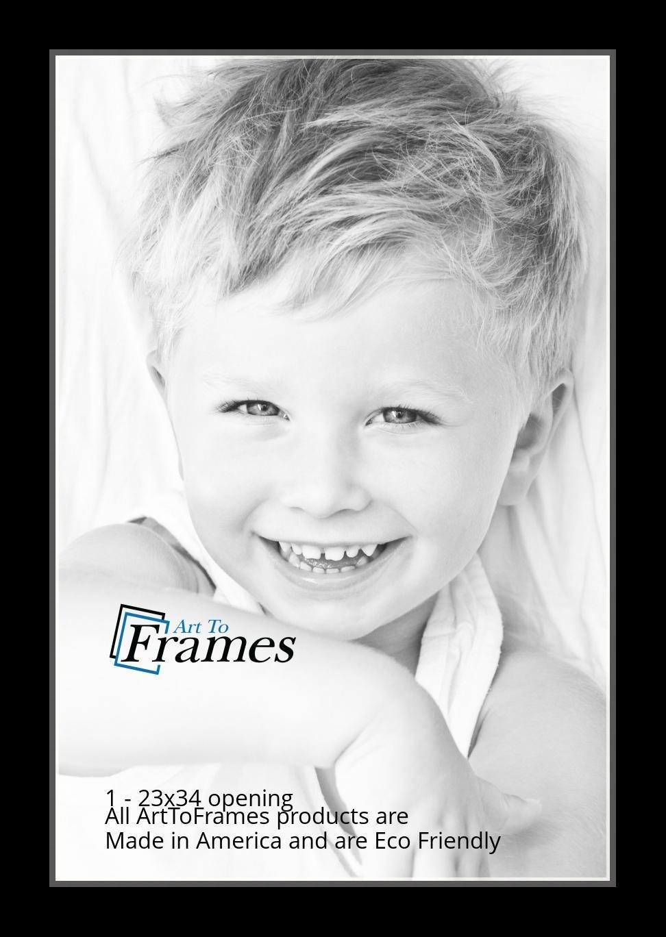 ArtToFrames-Custom-Black-Charcoal-Picture-Photo-Frame-Mat-Matting-Board-LG thumbnail 153