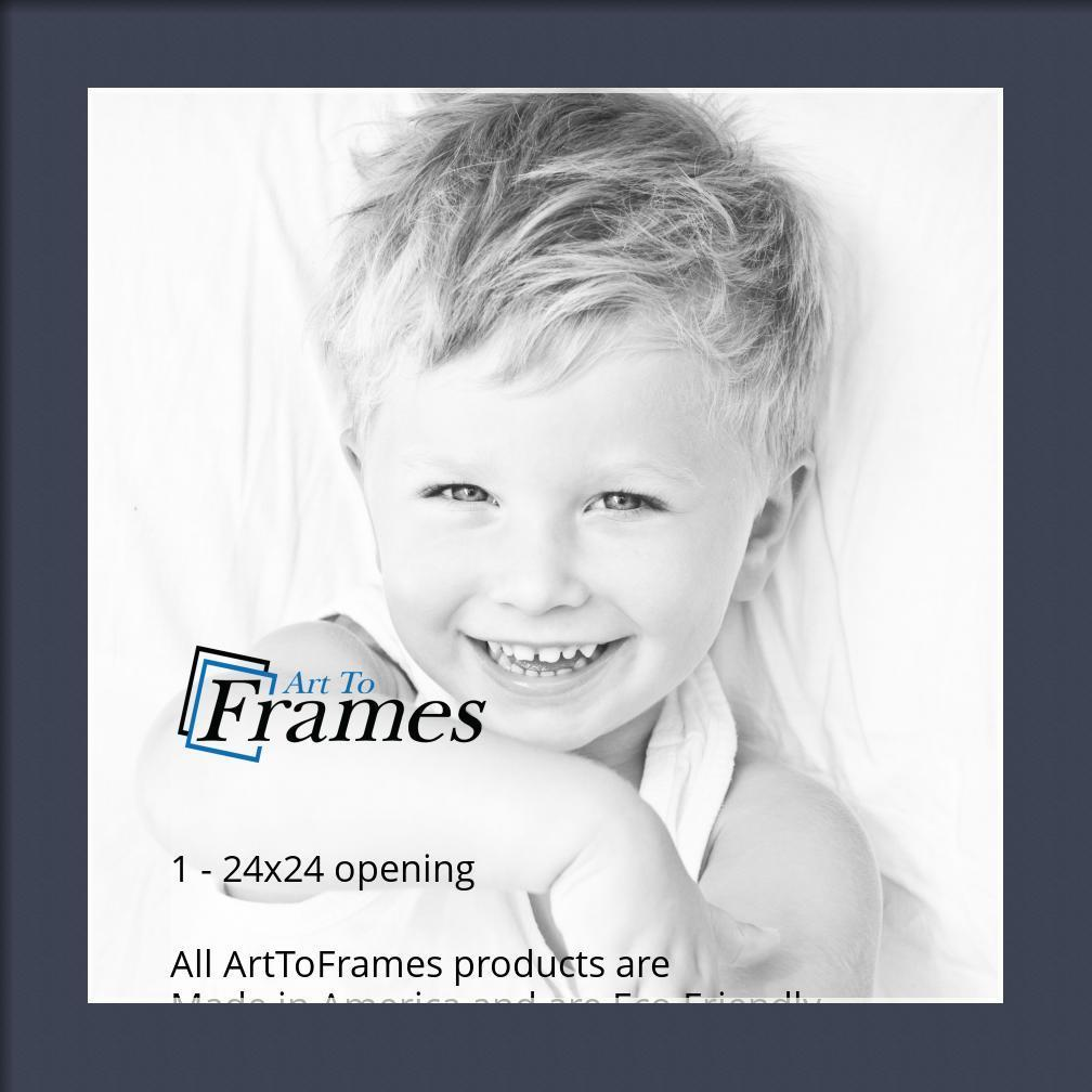 Arttoframes Custom Blue Jay Picture Photo Frame Mat