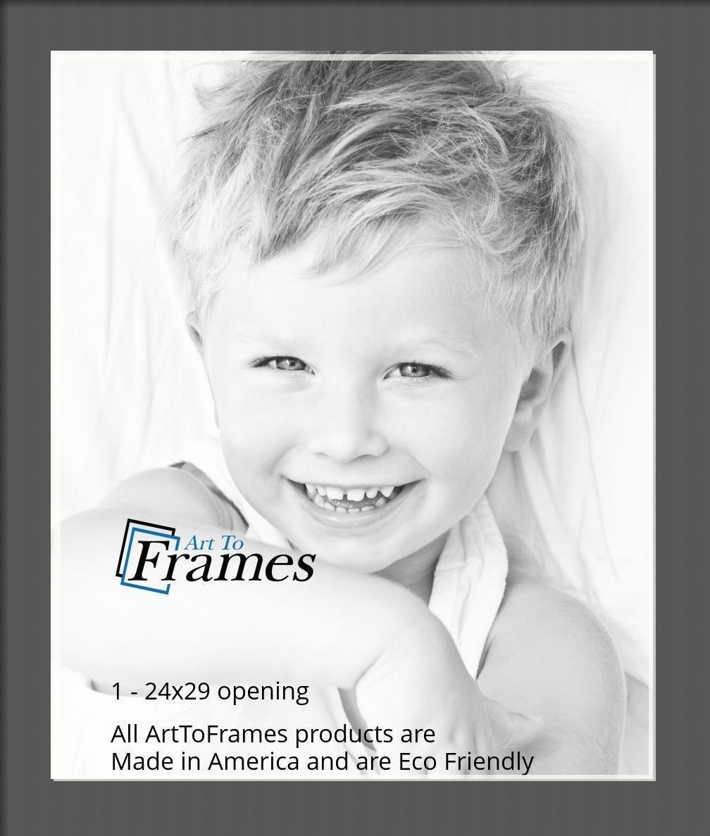 ArtToFrames-Custom-Black-Charcoal-Picture-Photo-Frame-Mat-Matting-Board-LG thumbnail 160
