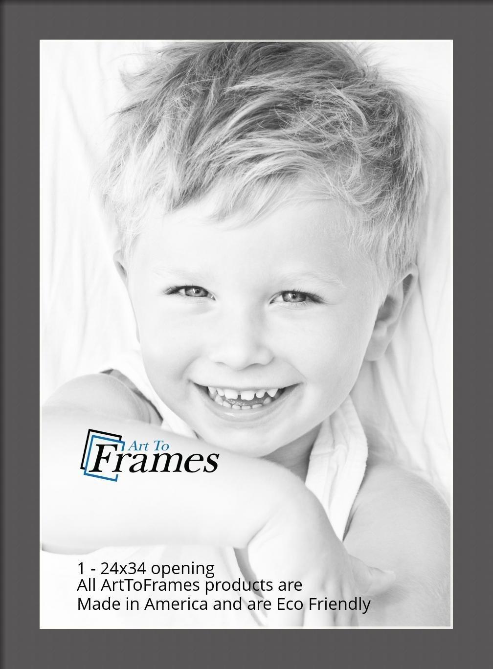 ArtToFrames-Custom-Black-Charcoal-Picture-Photo-Frame-Mat-Matting-Board-LG thumbnail 164