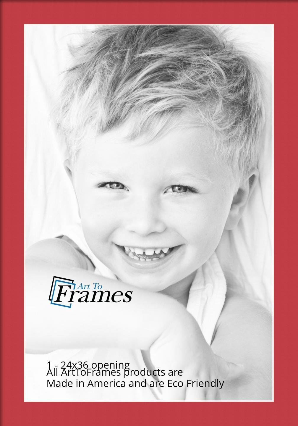 ArtToFrames Custom Red Tomato Picture Photo Frame Mat Matting Board ...