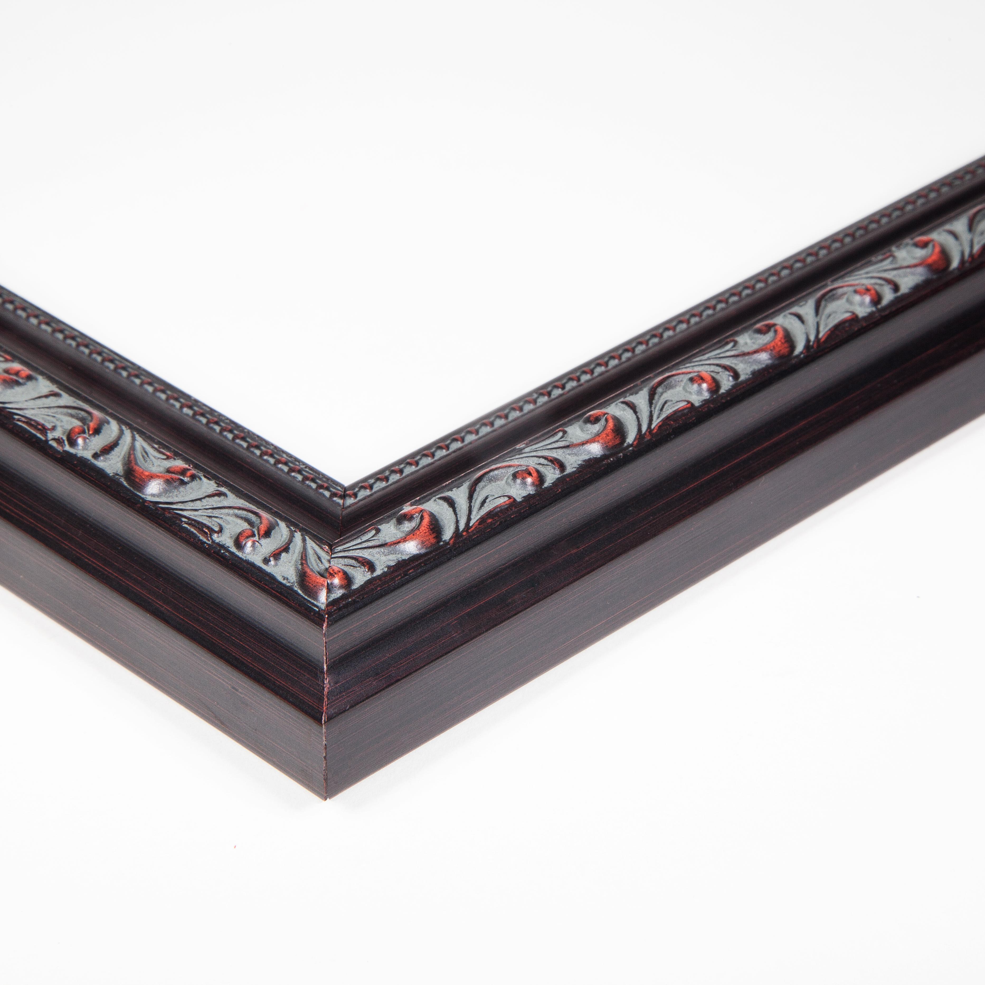 "ArtToFrames 1.25/"" Custom Poster Frame  Black Wood 4625 Large"