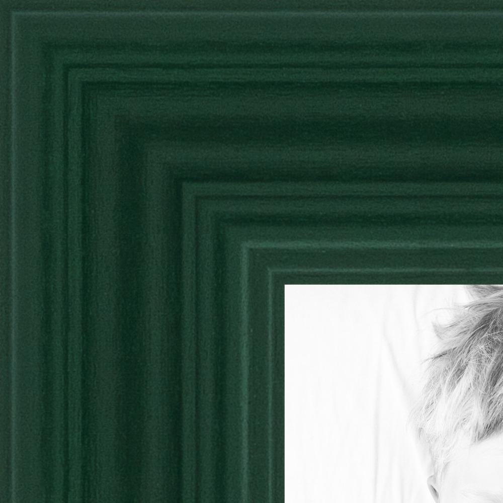 picture frame custom 1 green on maple