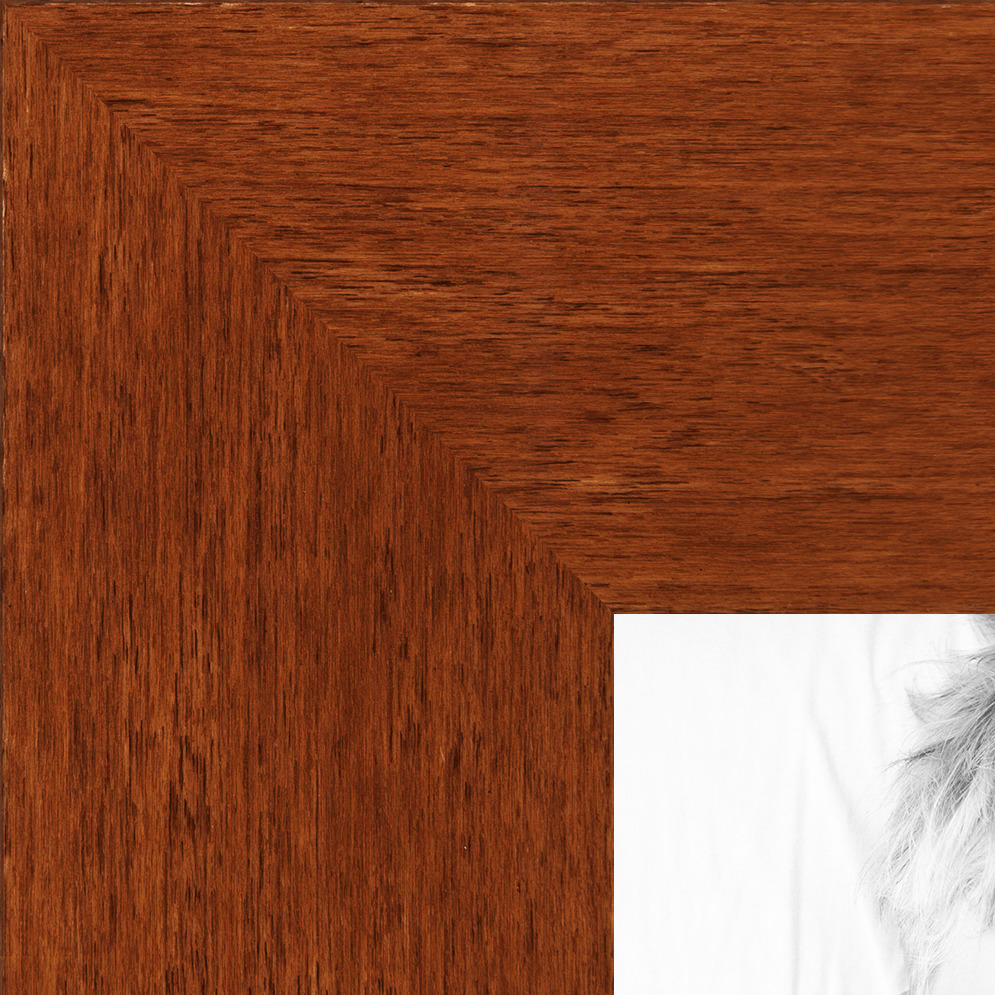 ArtToFrames 1.375 Inch Walnut Stain on Beach Wood Picture Poster ...
